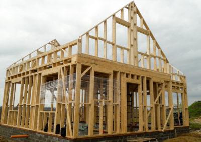 Domy drewniane przykładowa realizacja-3
