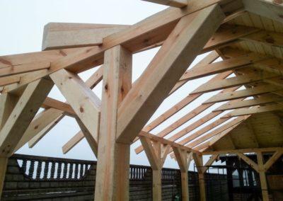 Galeria domy z drewna konstrukcje z drewna-1