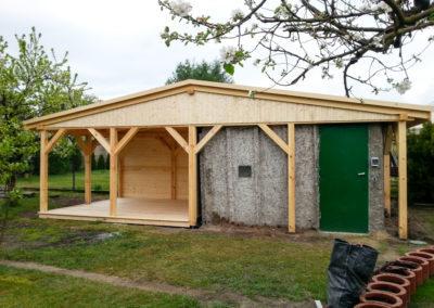 Prace budowlane konstrukcje drewniane-2