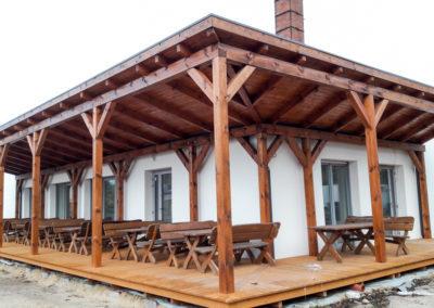 Prace budowlane konstrukcje drewniane-34